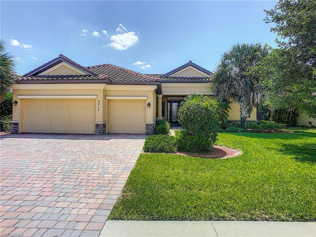 PROMENADE EAST Home for Sale - View SW FL MLS #219079193 at 9912 Via San Marco Loop in THE FORUM in FORT MYERS, FL - 33905