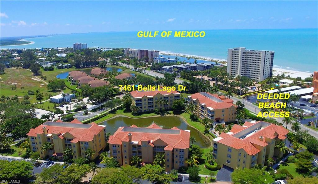 FORT MYERS BEACH Real Estate - View SW FL MLS #220016544 at 7461 Bella Lago Dr 221 in BELLA LAGO at BELLA LAGO