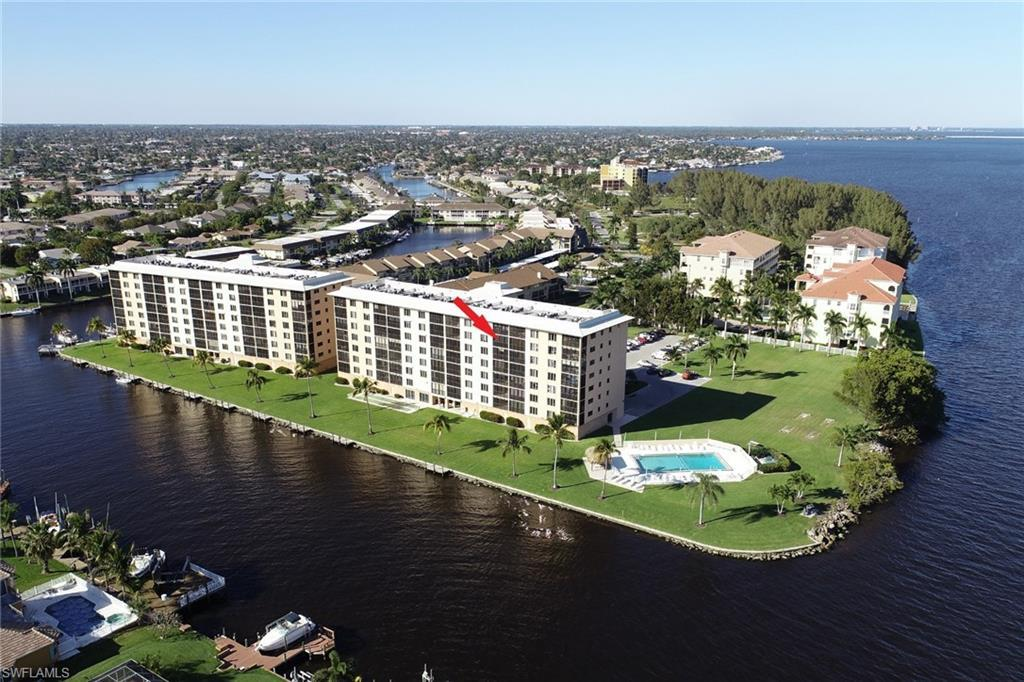 RIVER TOWERS CONDO Home for Sale - View SW FL MLS #220020780 at 4280 Se 20th Pl 703 in RIVER TOWERS CONDO in CAPE CORAL, FL - 33904