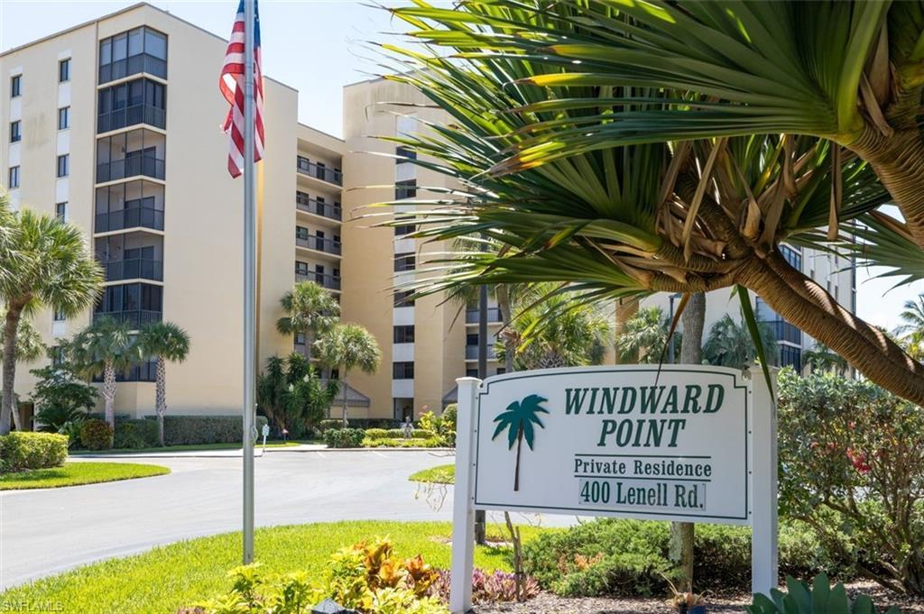 SW Florida Real Estate - View SW FL MLS #220029162 at 400 Lenell Rd 706 in WINDWARD POINT CONDO in FORT MYERS BEACH, FL - 33931