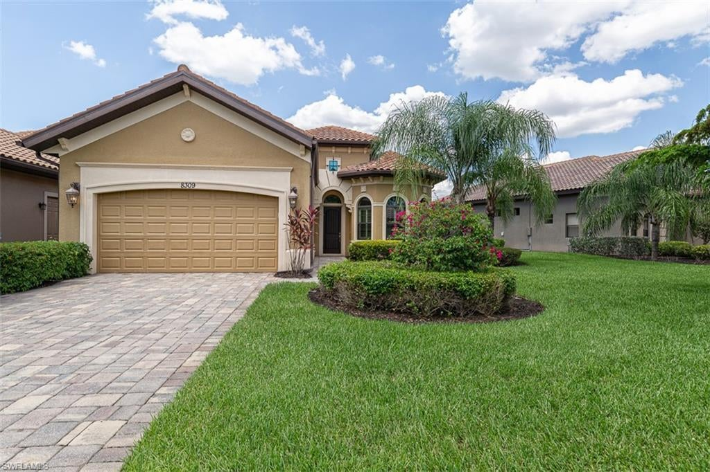 SW Florida Real Estate - View SW FL MLS #220038301 at 8309 Adelio Ln in PASEO in FORT MYERS, FL - 33912