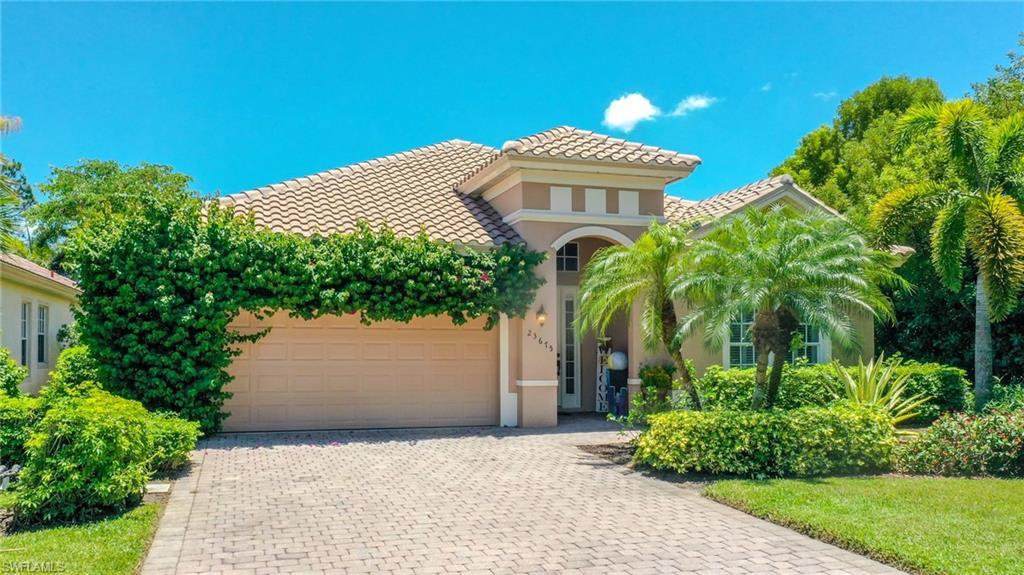BONITA SPRINGS Real Estate - View SW FL MLS #220038354 at 23675 Via Carino Ln in CARAVELLA at PALMIRA GOLF AND COUNTRY CLUB