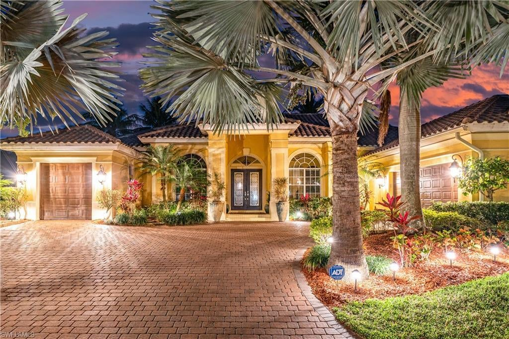 FORT MYERS Real Estate - View SW FL MLS #221009997 at 14550 Ocean Bluff Dr in EDGEWATER at GULF HARBOUR YACHT AND COUNTRY CLUB
